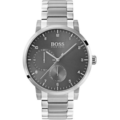 Hugo Boss Oxygen Oxygen Herrenuhr in Silber 1513596