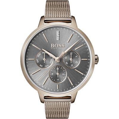 Hugo Boss Symphony Symphony Damenuhr in Gold 1502424