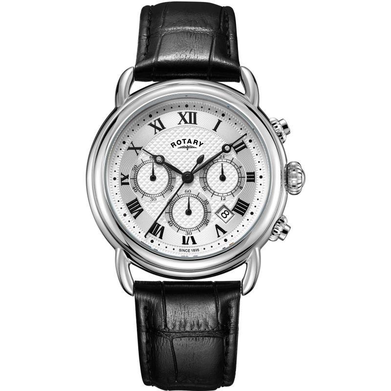 Mens Rotary Canterbury Chronograph Watch