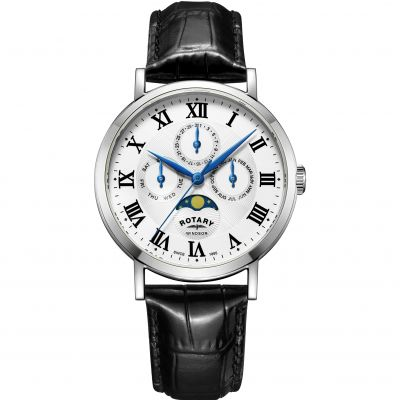Rotary Windsor Moonphase Herrenuhr GS05325/01