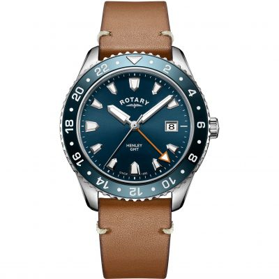 Mens Rotary Henley GMT Watch GS05108/05