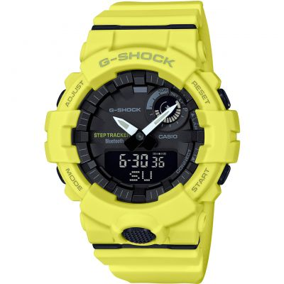 Montre Chronographe Homme Casio G-Shock Bluetooth Step Tracker GBA-800-9AER