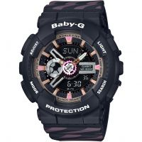 Casio Baby G Chance Alarm Chronograph Watch BA-110CH-1AER