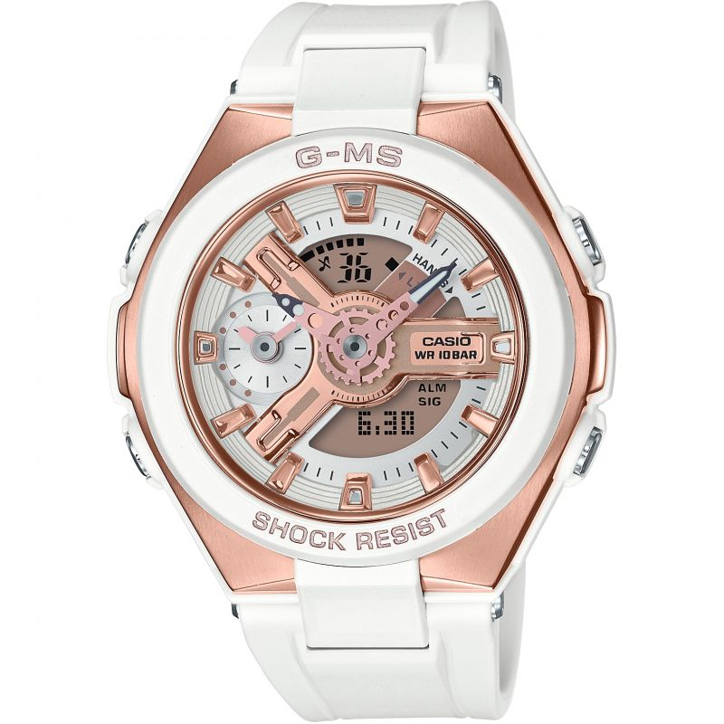 Casio G-Ms Glamorous Gold Alarm Chronograph Watch