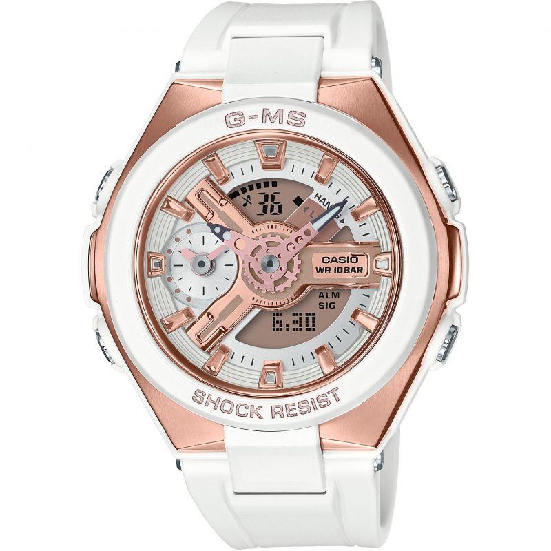 Casio G-Ms Glamorous Gold Alarm Chronograph Watch