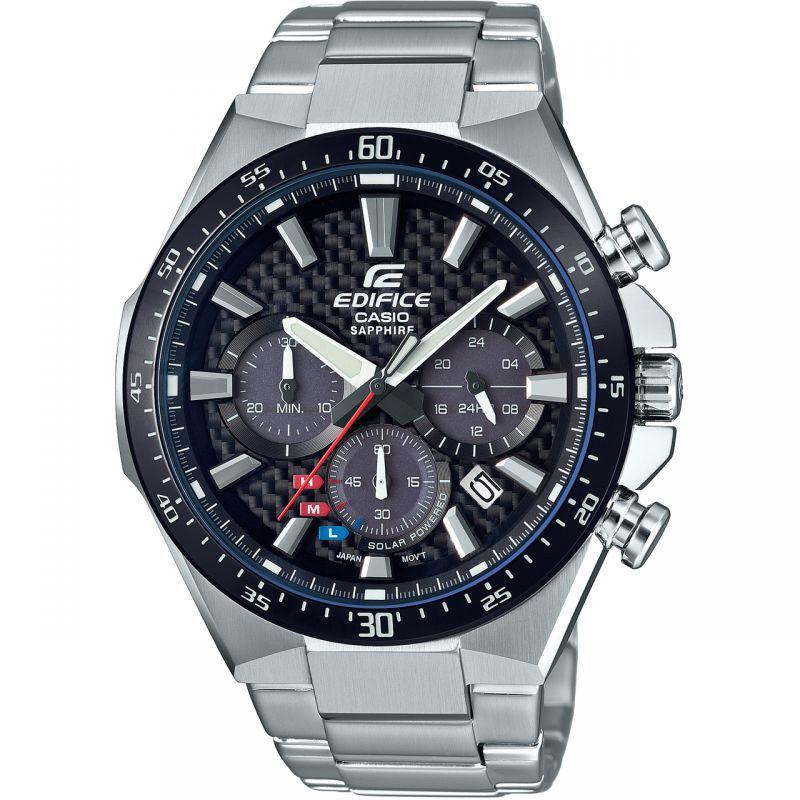 Casio Edifice Carbon Dial Watch