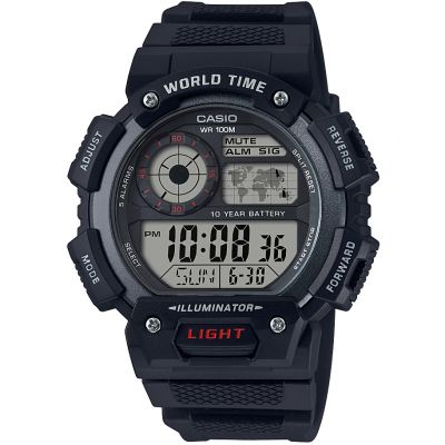 Zegarek męski Casio Classic World Time AE-1400WH-1AVEF