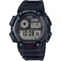 Casio Classic World Time Alarm Chronograph Watch AE-1400WH-1AVEF