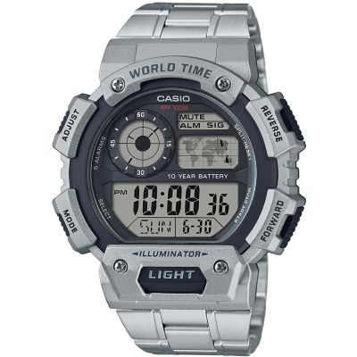 Montre Chronographe Homme Casio Classic World Time AE-1400WHD-1AVEF