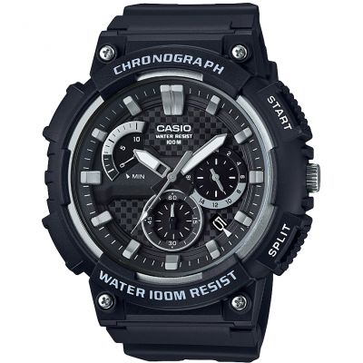 Casio Classic Chronograph Watch MCW-200H-1AVEF