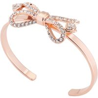 Ted Baker Hediie Ornate Pave Bow Bangle TBJ1799-24-02