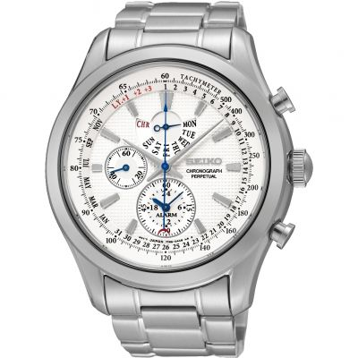 Seiko Alarm Chronograph Watch SPC123P1