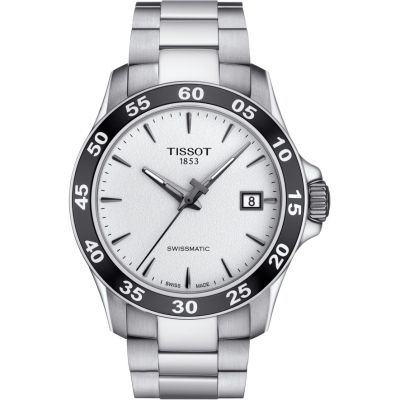 Tissot Swissmatic V8 Herrenuhr in Silber T1064071103100