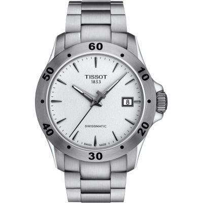 Tissot Swissmatic V8 Herrenuhr in Silber T1064071103101