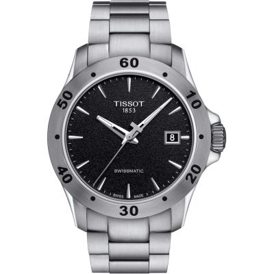 Mens Tissot V8 Swissmatic Watch T1064071105100
