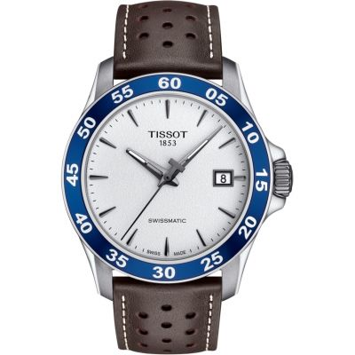 Tissot Swissmatic V8 Herrenuhr in Braun T1064071603100