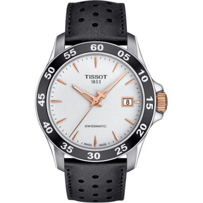 Tissot Swissmatic V8 Herrenuhr in Schwarz T1064072603100