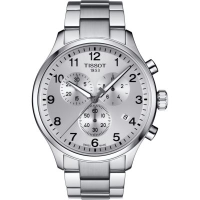 Tissot Chrono XL Chrono XL Classic Herrenchronograph in Silber T1166171103700