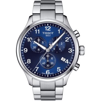 Tissot Chrono XL Chrono XL Classic Herrenchronograph in Silber T1166171104701