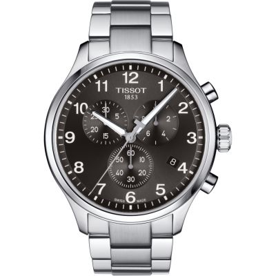 Tissot Chrono XL Chrono XL Classic Herrenchronograph in Silber T1166171105701