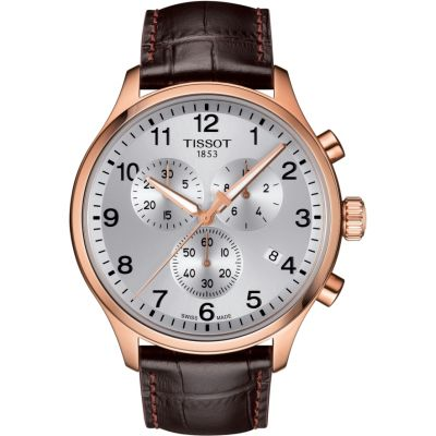 Tissot Chrono XL Chrono XL Classic Herrenchronograph in Braun T1166173603700