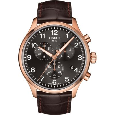 Tissot Chrono XL Chrono XL Classic Herrenchronograph in Braun T1166173605701
