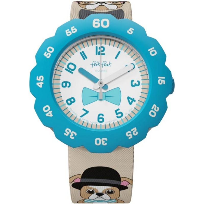 Flik Flak Chapeau Melon Watch FPSP024