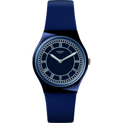 Montre Unisexe Swatch Blue Ben GN254