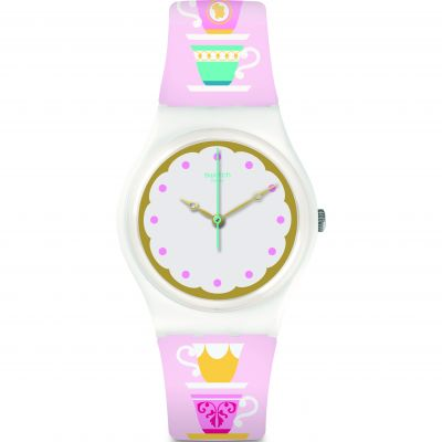 Montre Unisexe Swatch High Tea GW191