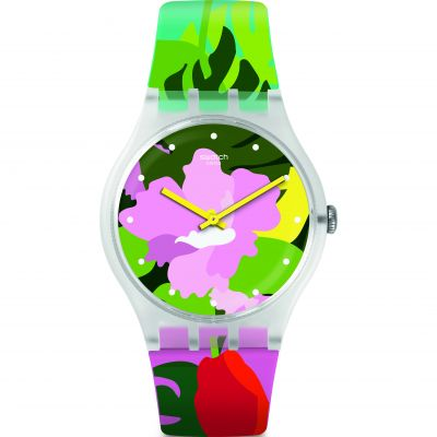 Swatch Originals New Gent Tropical Garden Unisexuhr SUOK132