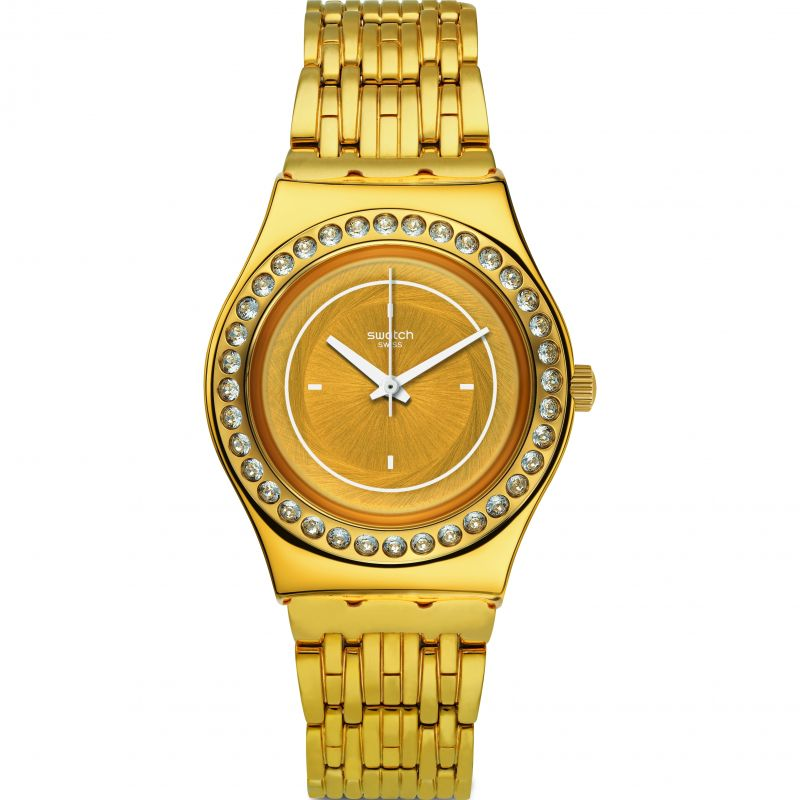 Swatch Glass Of Bubbles Watch