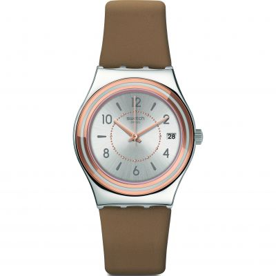 Swatch Irony Medium Caresse Dete Damenuhr YLS458