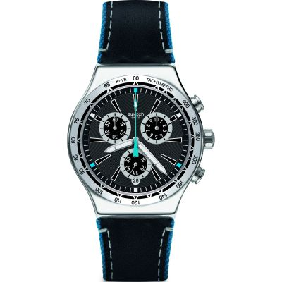 Swatch Blue Details Watch YVS442