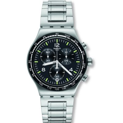 Swatch Night Flight Watch YVS444G