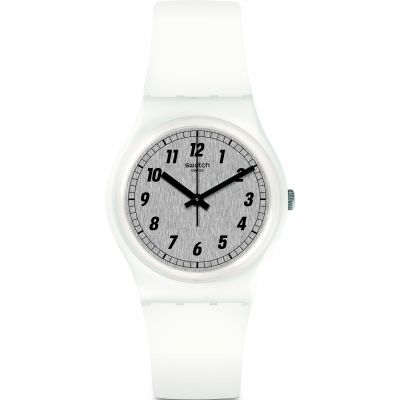 Swatch Something White Unisexklocka GW194