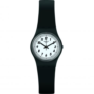 Swatch Something Black Damklocka LB184