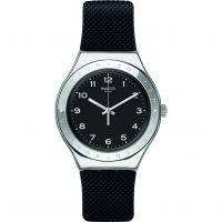 Swatch Charbon Watch YGS137