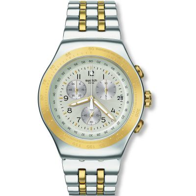 Swatch Irony Chrono Oversize Live My Time Herrenuhr YOS458G