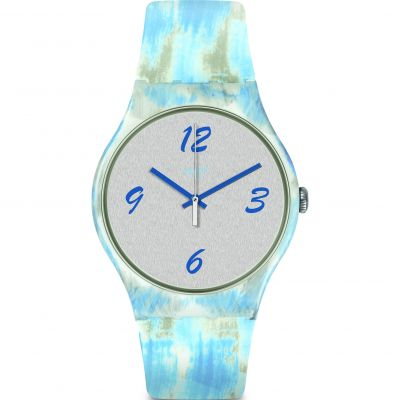 Swatch Originals New Gent Bluquarelle Unisexuhr SUOW149
