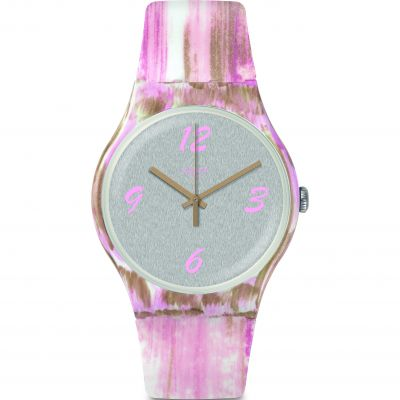 Swatch Originals New Gent Pinkquarelle Unisexuhr SUOW151