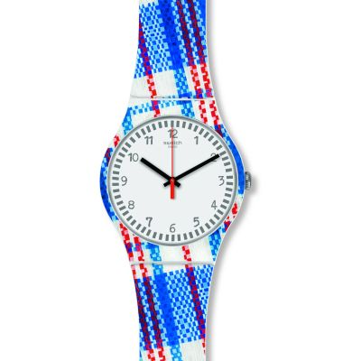 Swatch Tartanotto Unisexklocka SUOZ258C