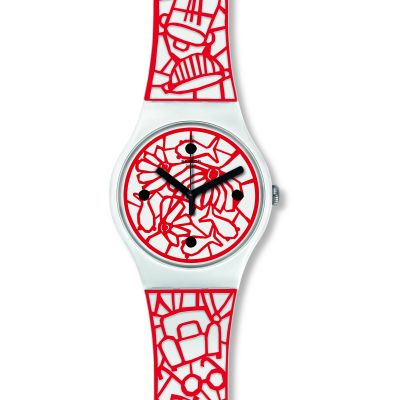 Swatch Originals New Gent Cutotto Unisexuhr SUOZ259C
