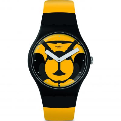 Swatch Originals New Gent Max L Abeille Unisexuhr SUOB149