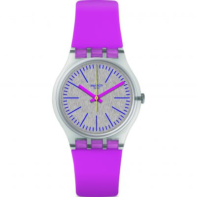 Swatch Fluo Pinky Watch GE256