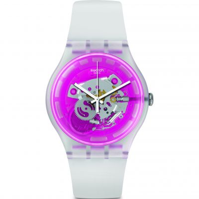 Swatch Originals New Gent Pinkmazing Unisexuhr SUOK130
