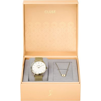 Cluse Minuit Heart Gift Set Watch CLG012