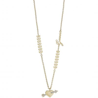 Ladies Guess Cupid Gold Necklace