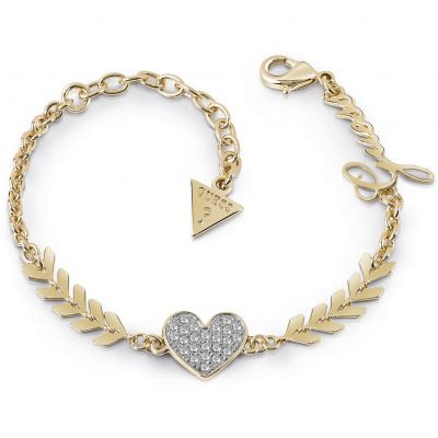 Ladies Guess Cupid Gold Bracelet