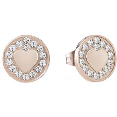 Ladies Guess Jamila Rose Gold Earrings