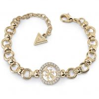 Ladies Guess Un4Gettable Gold Bracelet